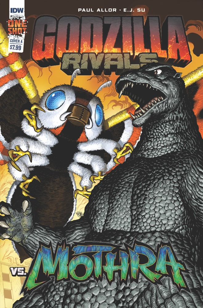 Godzilla_Rivals_2_Cover_A IDW Publishing September 2021 Solicitations
