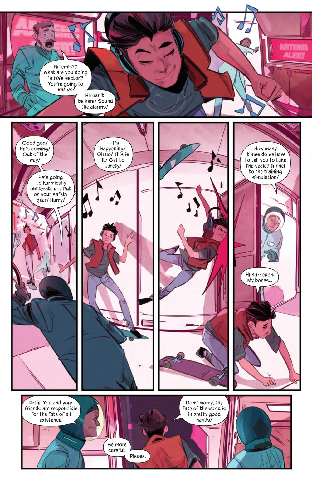 GoodLuck_001_PRESS_10 ComicList Previews: GOOD LUCK #1 (OF 5)