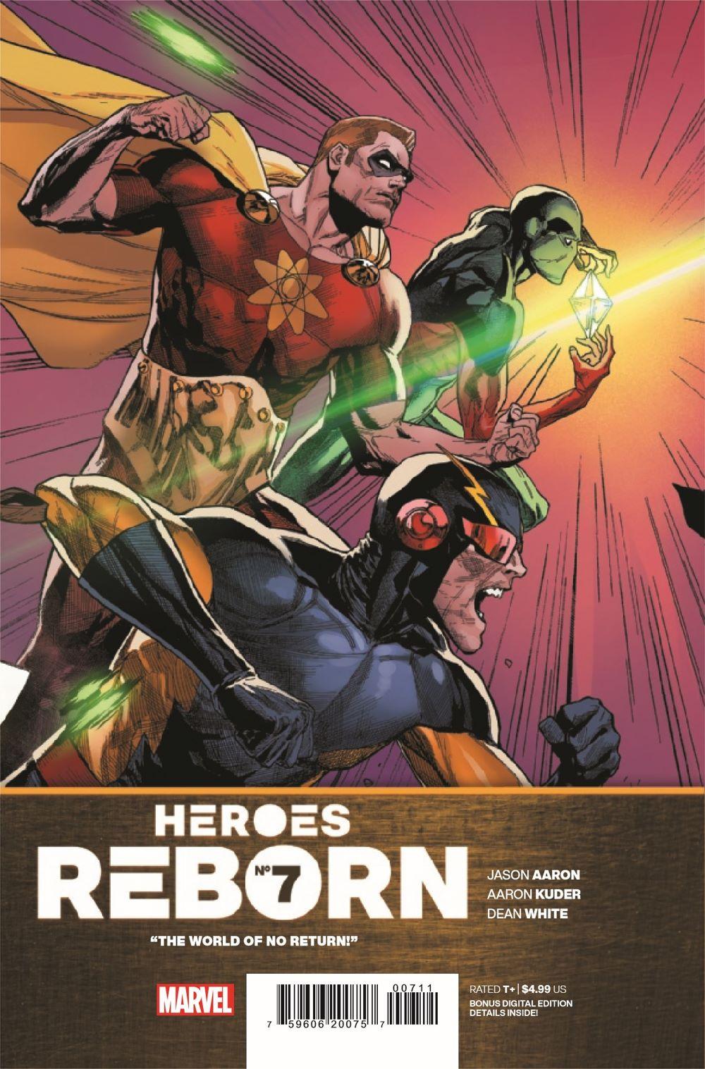 HEROESREBORN2021007_Preview-1 ComicList Previews: HEROES REBORN #7 (OF 7)