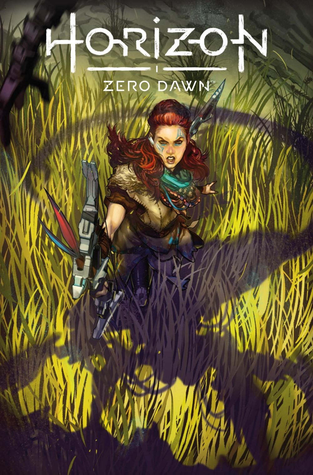 HorizonZeroDawn23_00_Cover_A-1 Titan Comics September 2021 Solicitations