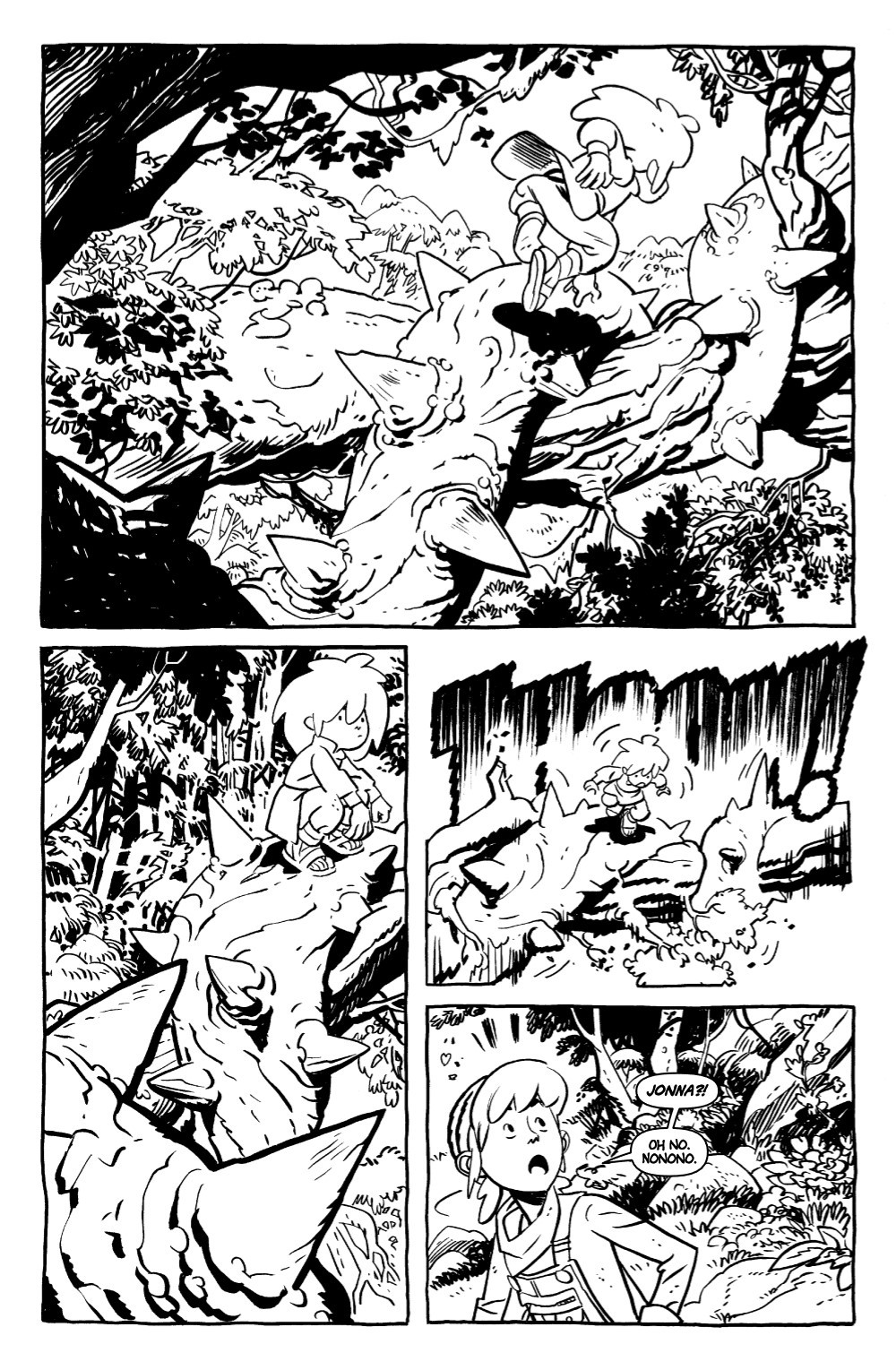 JONNA-1-DB-PGS-01-32-FNL-1-06 ComicList Previews: JONNA AND THE UNPOSSIBLE MONSTERS #1 (DRAWING BOARD EDITION)