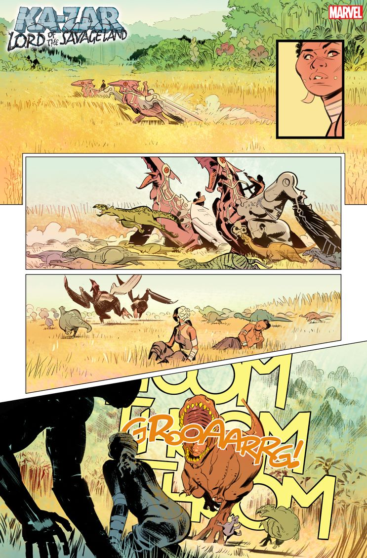 KAZARLOSL2021001_3 First Look at KA-ZAR: LORD OF THE SAVAGE LAND #1 from Marvel Comics