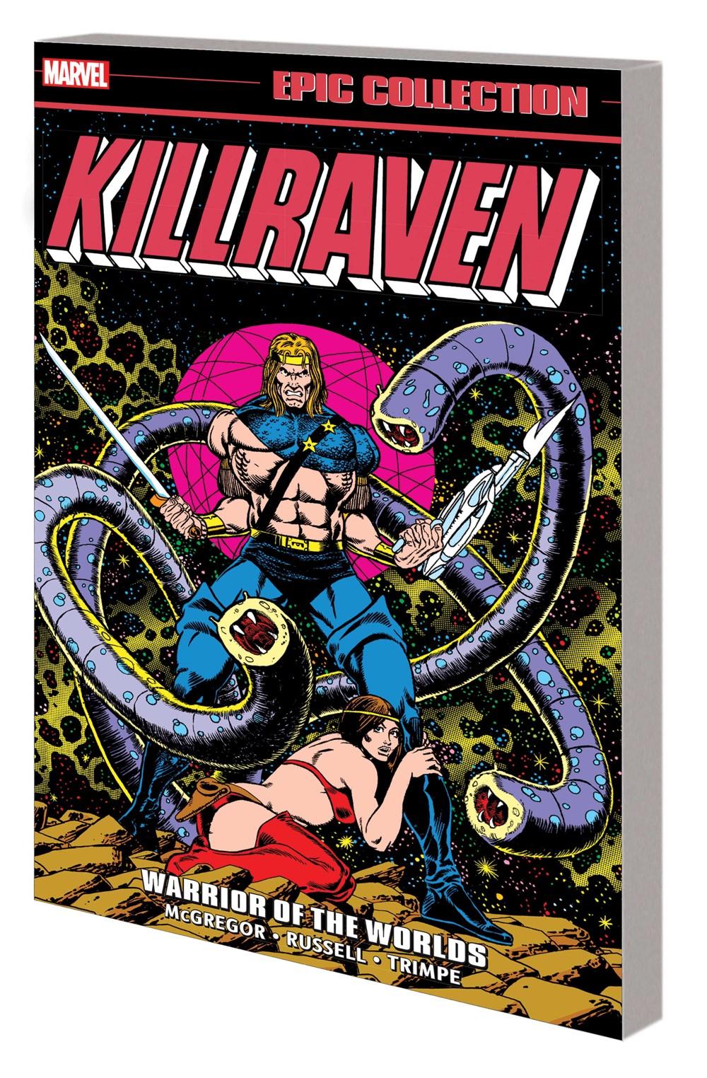 KILLRAVEN_EPIC_V01_TPB Marvel Comics September 2021 Solicitations