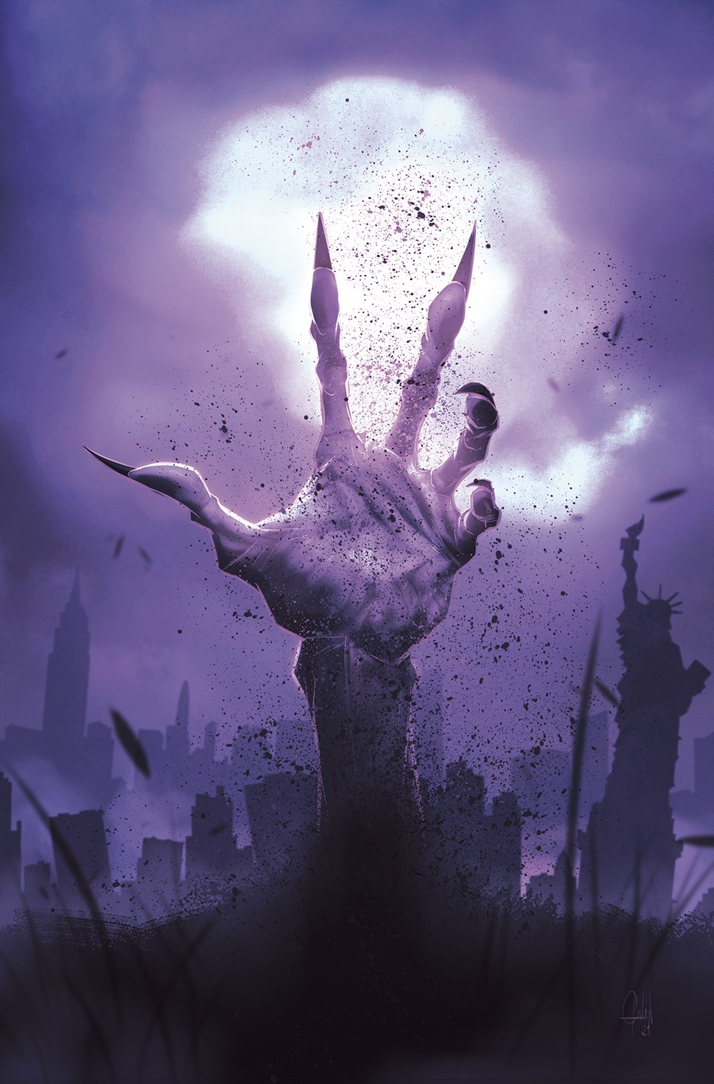LYDEVIL_i2_FC_FNL Dark Horse Comics September 2021 Solicitations