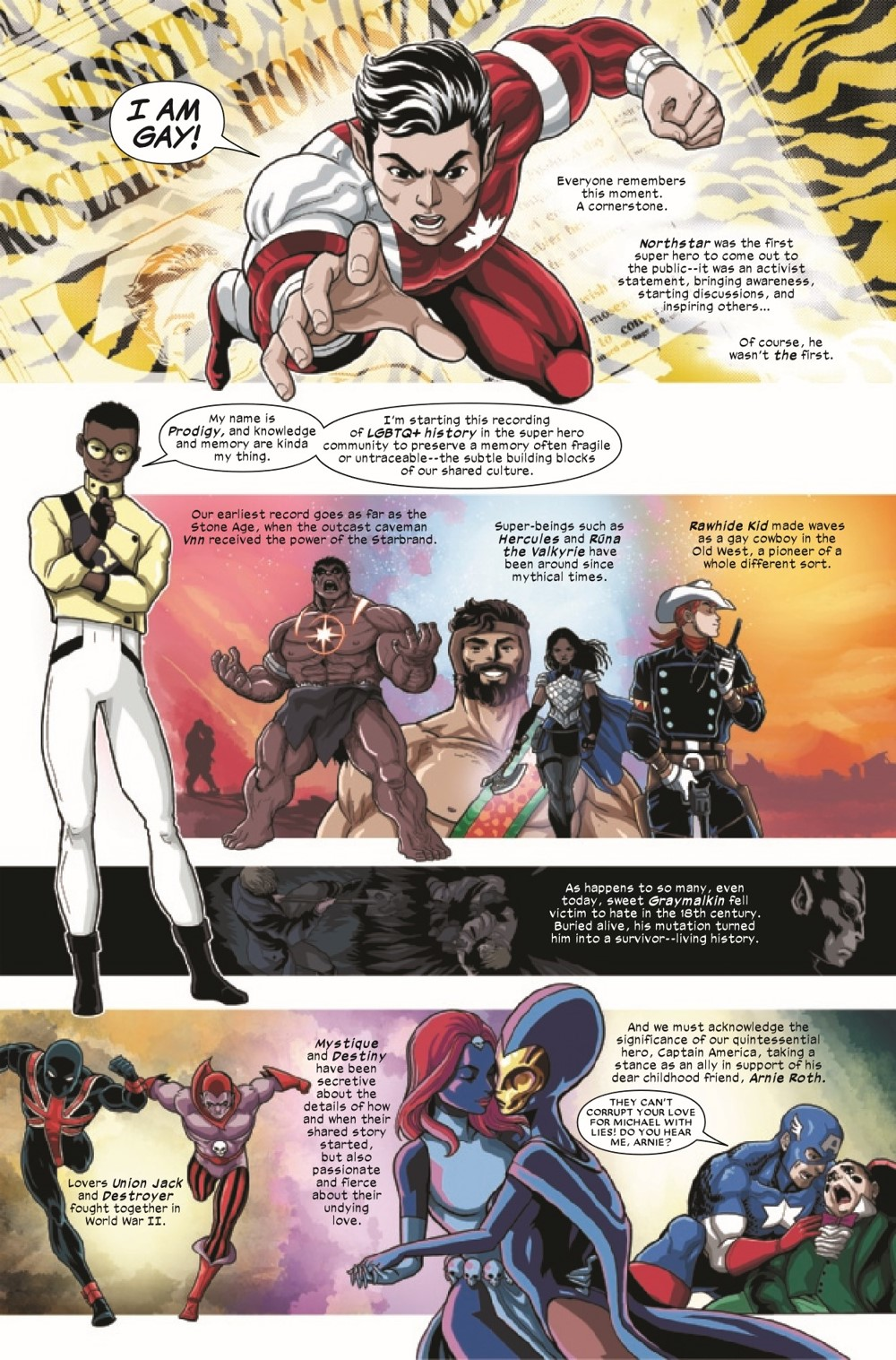 MARVOICESPRIDE2021001_Preview-04 ComicList Previews: MARVEL'S VOICES PRIDE #1