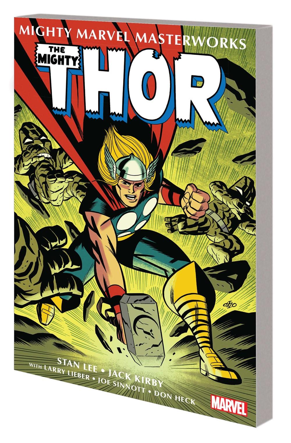 MMTHOR001_GN_TPB_CHO Marvel Comics September 2021 Solicitations