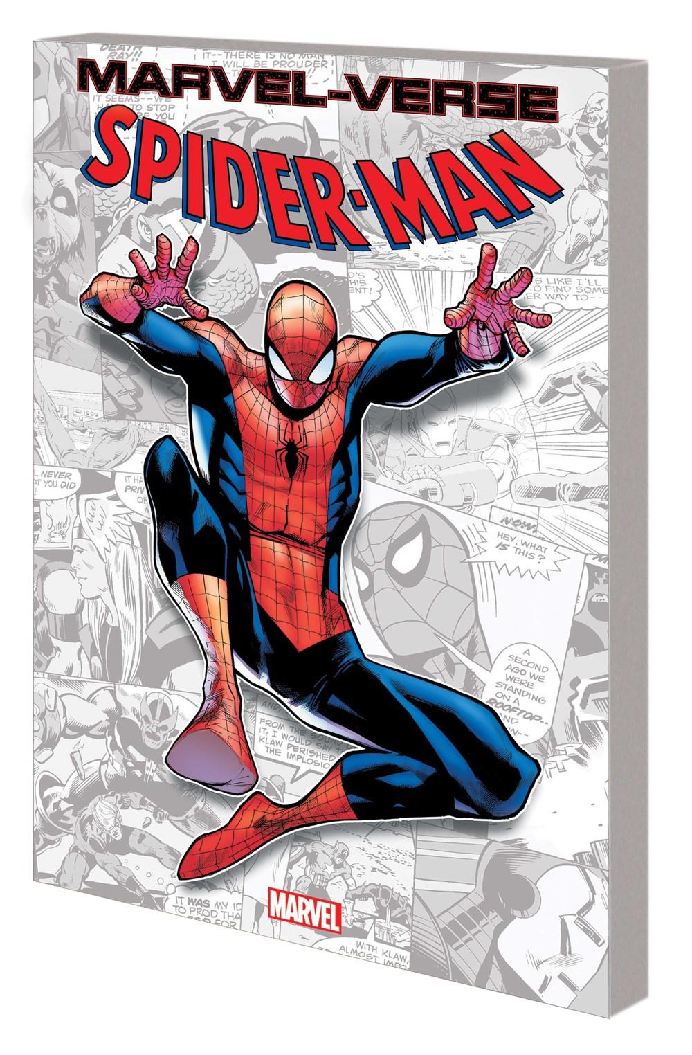 MV_SPIDERMAN_GN_TPB Marvel Comics September 2021 Solicitations