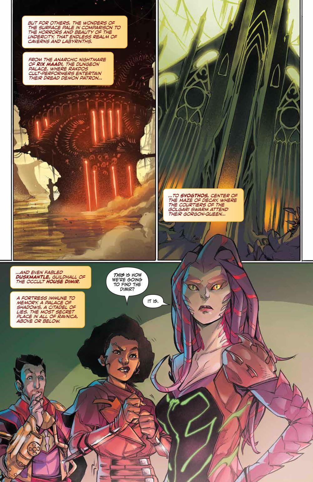 Magic_003_PRESS_4-1 ComicList Previews: MAGIC #3