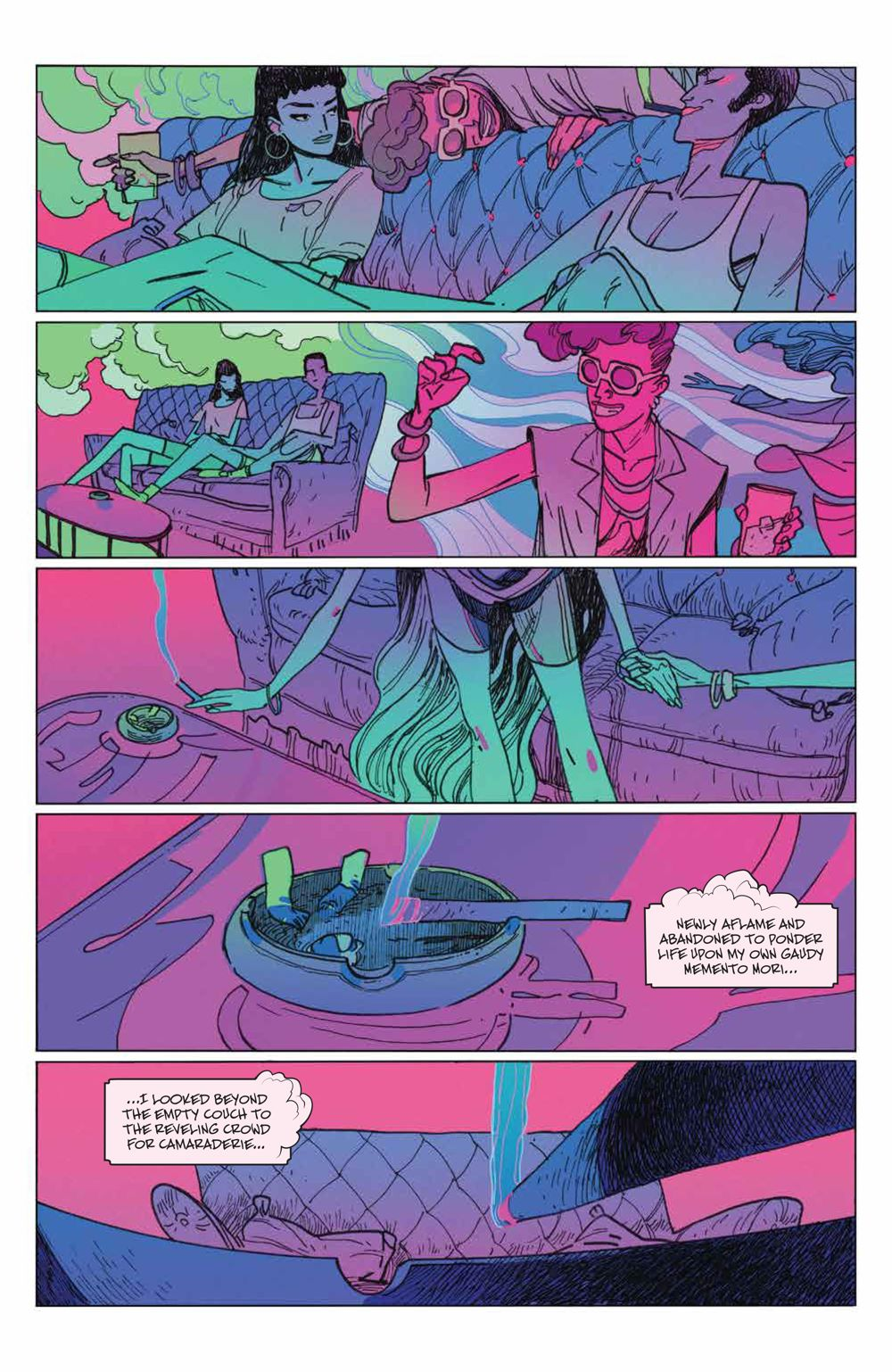 ManyDeathsLailaStarr_003_PRESS_5 ComicList Previews: THE MANY DEATHS OF LAILA STARR #3 (OF 5)