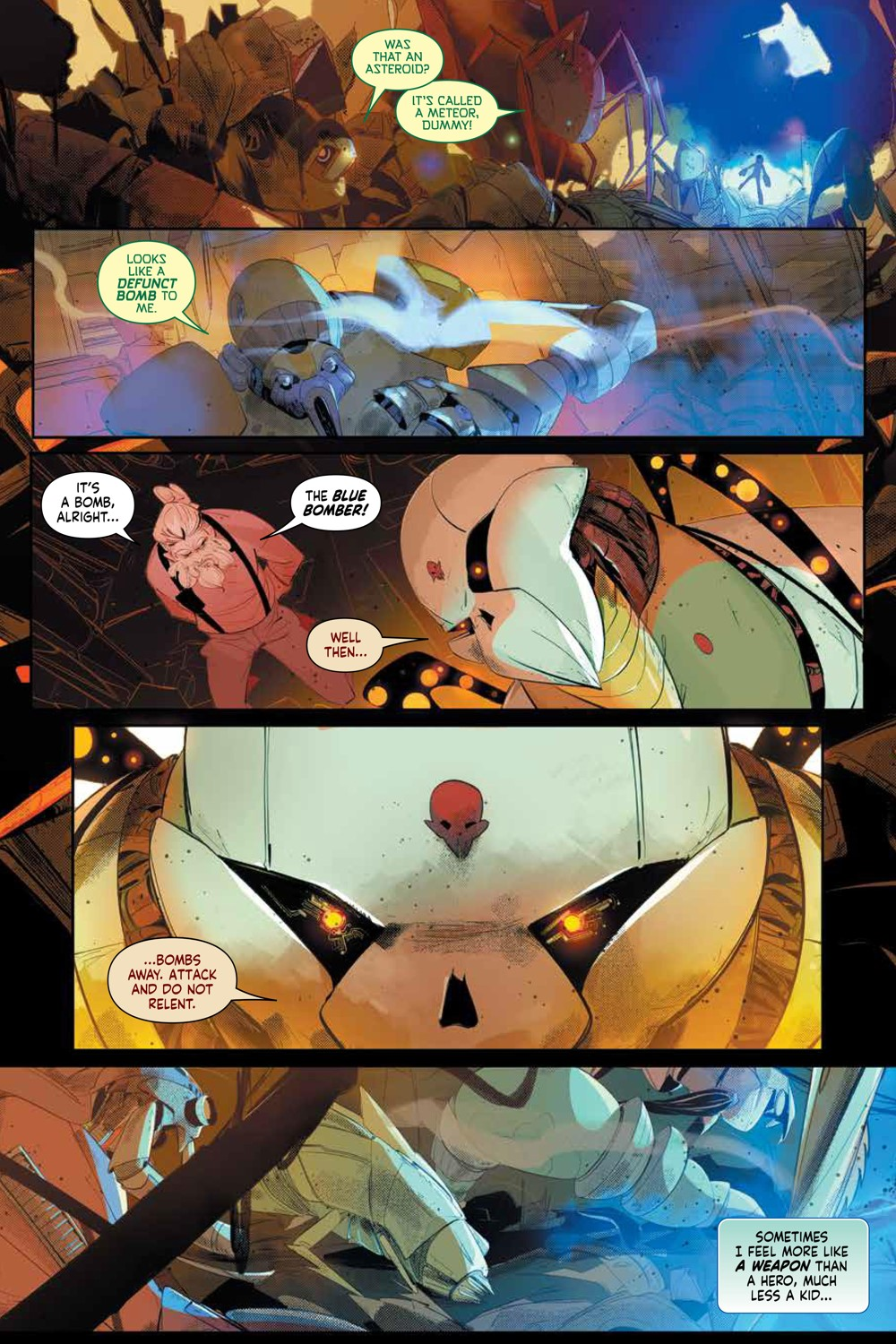MegaMan_FullyCharged_SC_PRESS_15 ComicList Previews: MEGA MAN FULLY CHARGED TP