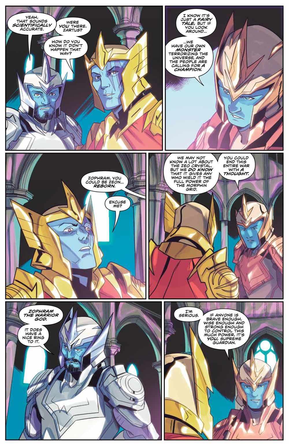 Mighty_Morphin_008_PRESS_5-1 ComicList Previews: MIGHTY MORPHIN #8