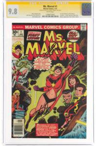 Ms-Marvel-1-signed-e1622677398528-197x300 Huge X-Men Auction at Heritage