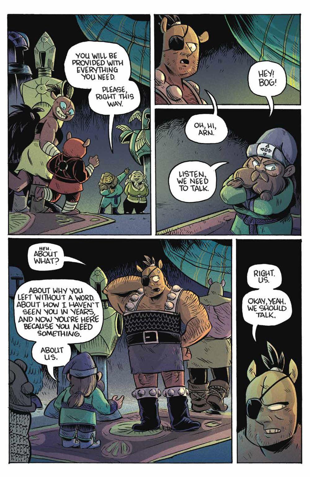 Orcs_005_PRESS_6 ComicList Previews: ORCS #5 (OF 6)