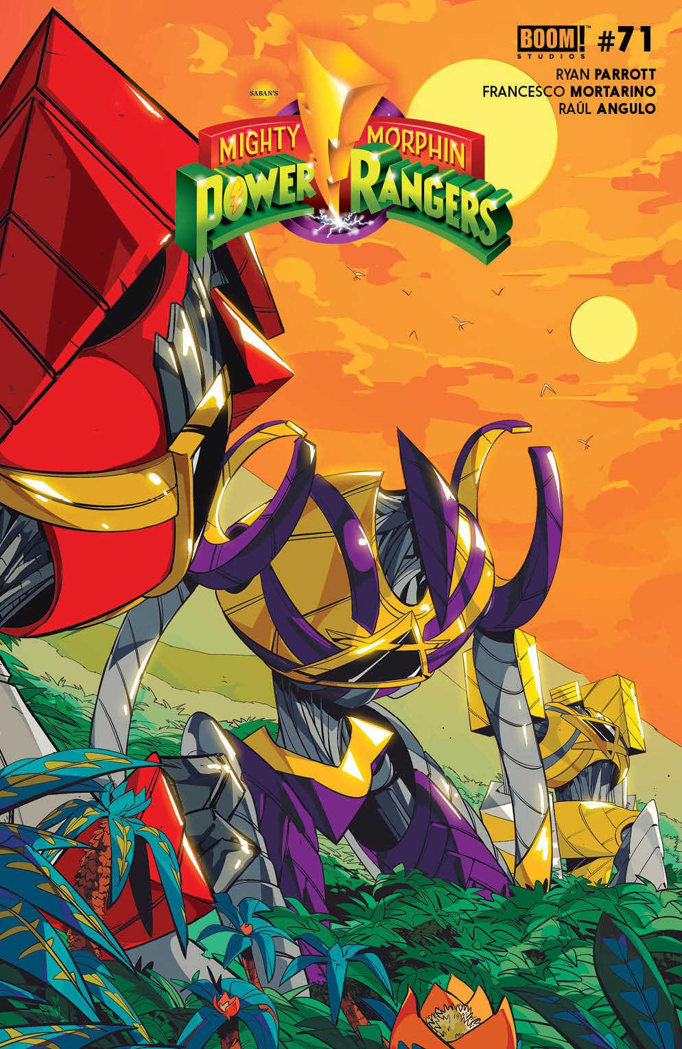 PowerRangers_008_Cover_B_Variant ComicList: BOOM! Studios New Releases for 06/23/2021