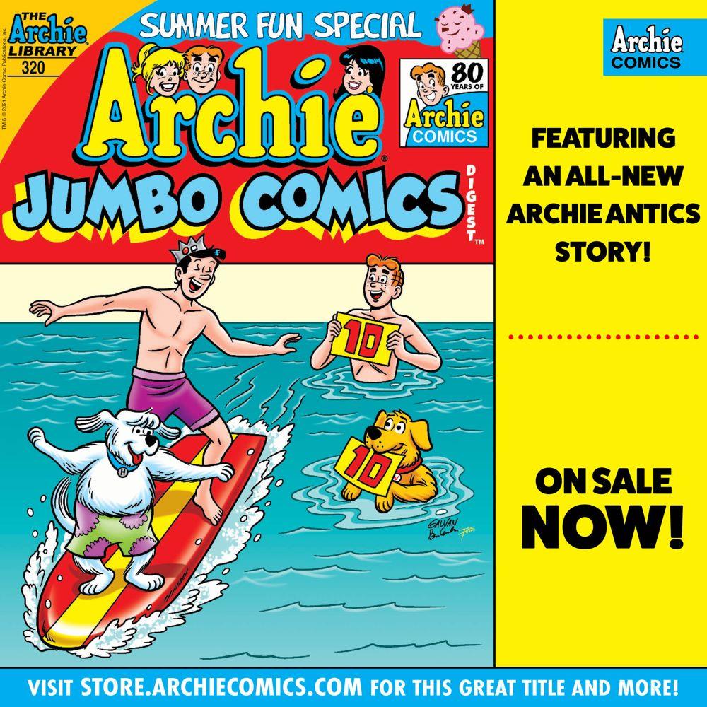 Preorder_Graphic_JUN_2021_OSN_01-2 ComicList Previews: ARCHIE JUMBO COMICS DIGEST #320