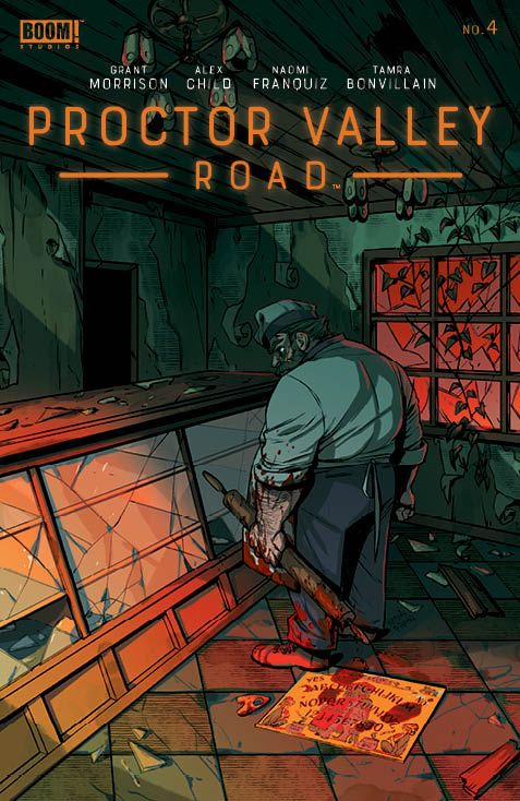 ProctorValleyRoad_004_Cover_A_Main ComicList: BOOM! Studios New Releases for 06/16/2021