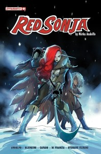 RedSonja2021-01-01011-A-Andolfo-198x300 Dynamite Entertainment launches another new RED SONJA series
