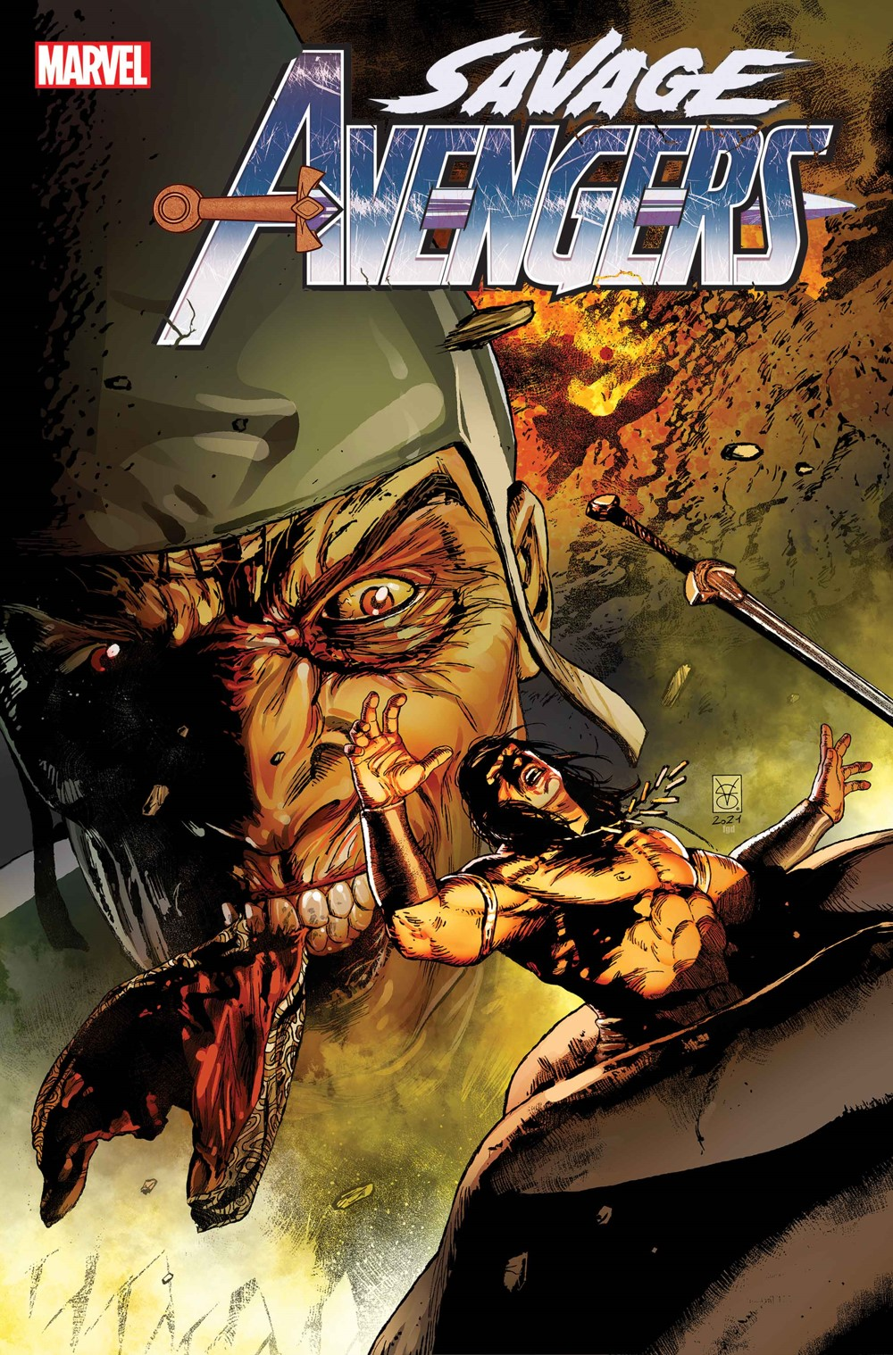 SAVAVEN2019024_Cov Marvel Comics September 2021 Solicitations