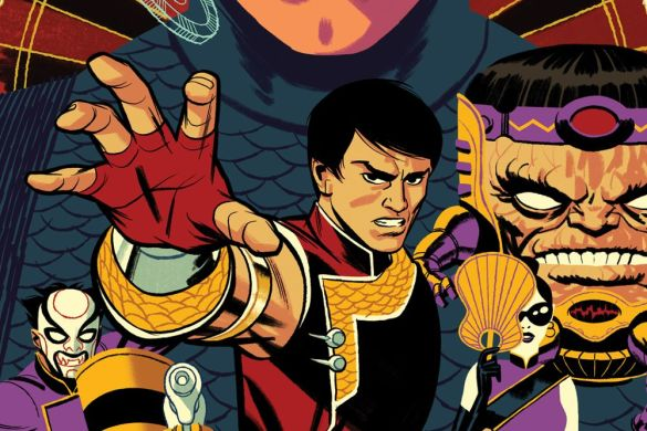 SHANGCHI2021002_Cho_var Michael Cho's variant cover for SHANG-CHI #2 revealed