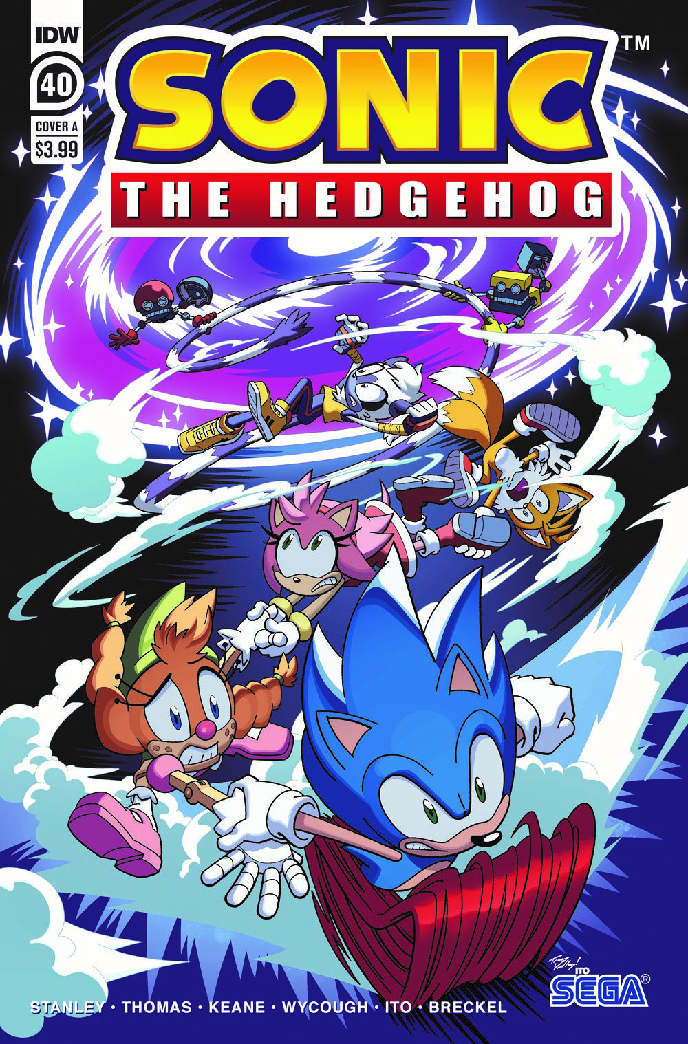 STH40_cvrA ComicList: IDW Publishing New Releases for 06/09/2021