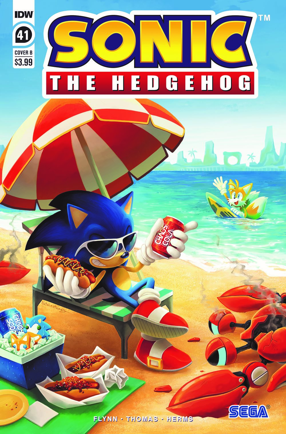 STH41_cvrB ComicList: IDW Publishing New Releases for 06/16/2021