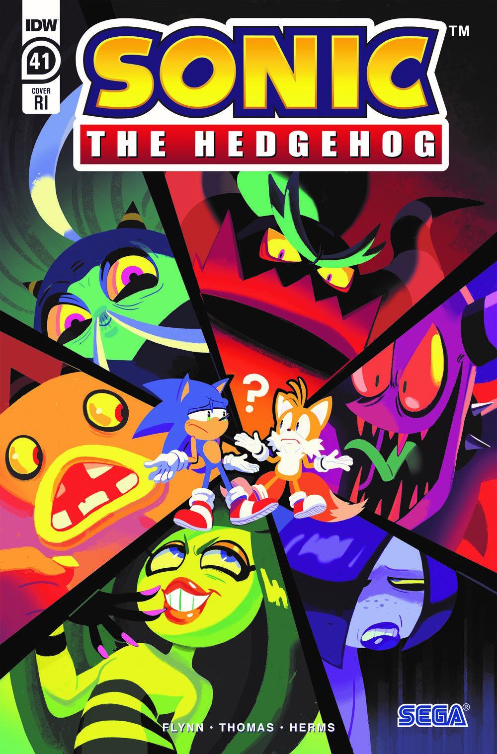 STH41_cvrRI ComicList Previews: SONIC THE HEDGEHOG #41