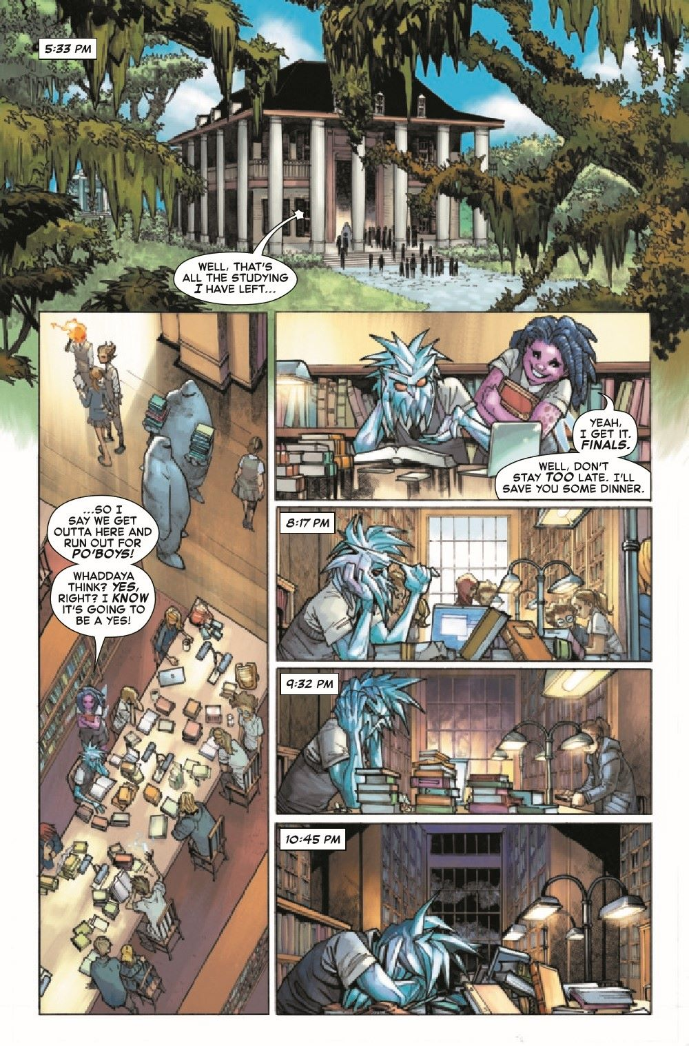 STRACADEMY2020011_Preview-3 ComicList Previews: STRANGE ACADEMY #11