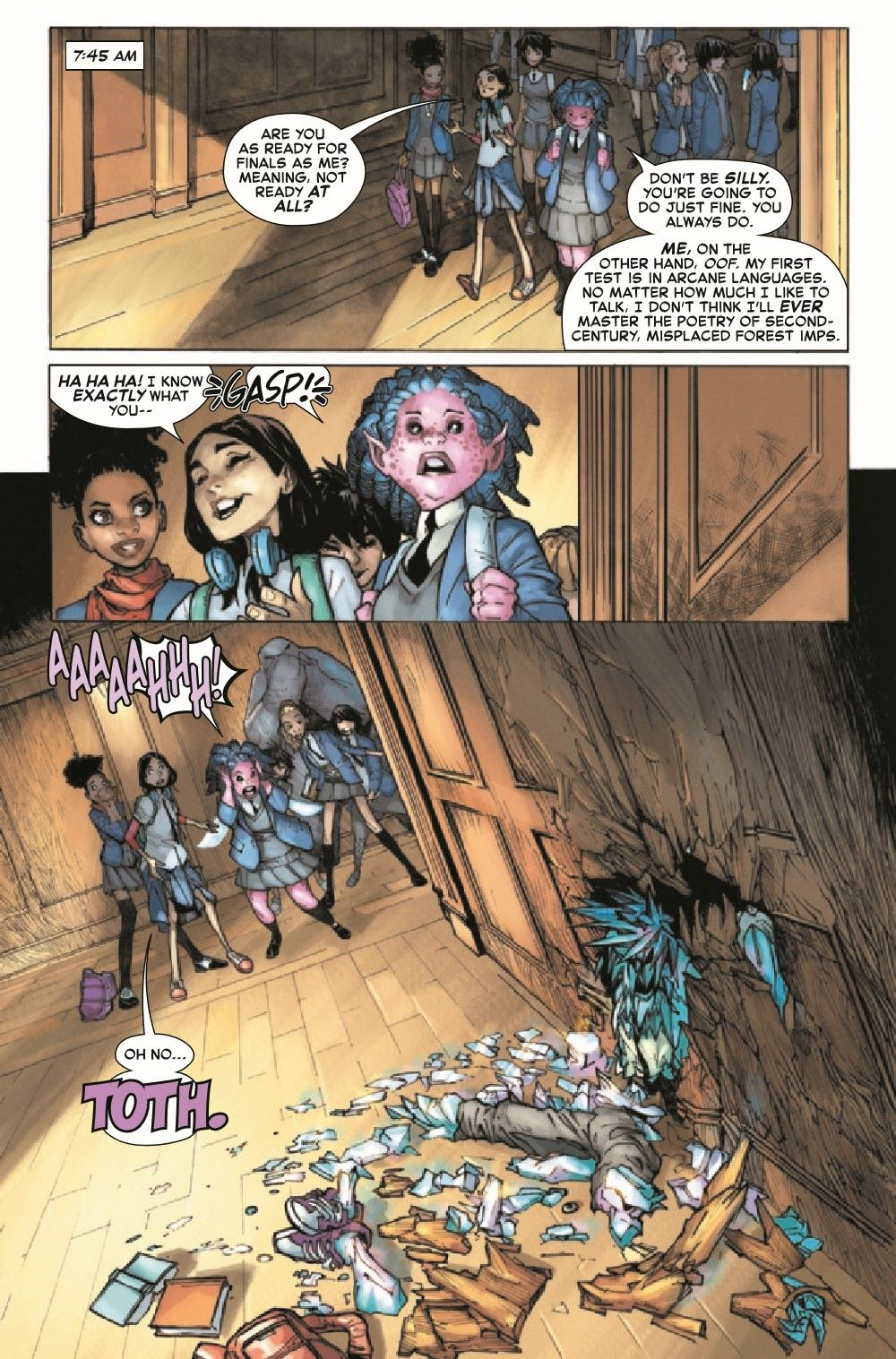 STRACADEMY2020011_Preview-5 ComicList Previews: STRANGE ACADEMY #11