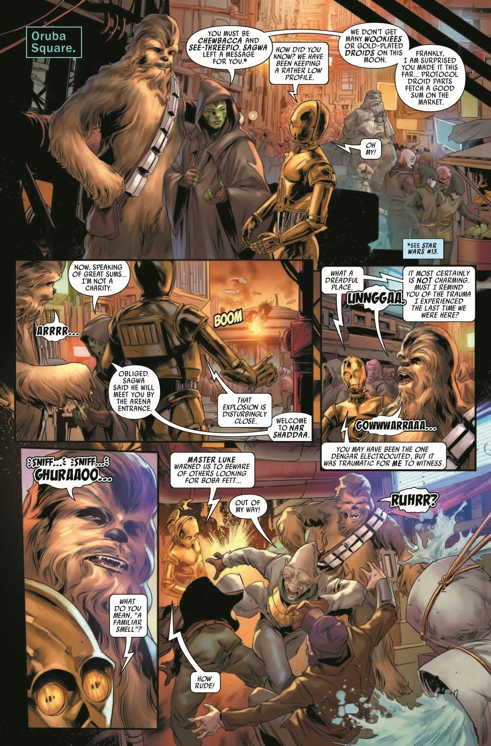 STWBOUNTYHUNT2020013_Preview-3 ComicList Previews: STAR WARS BOUNTY HUNTERS #13