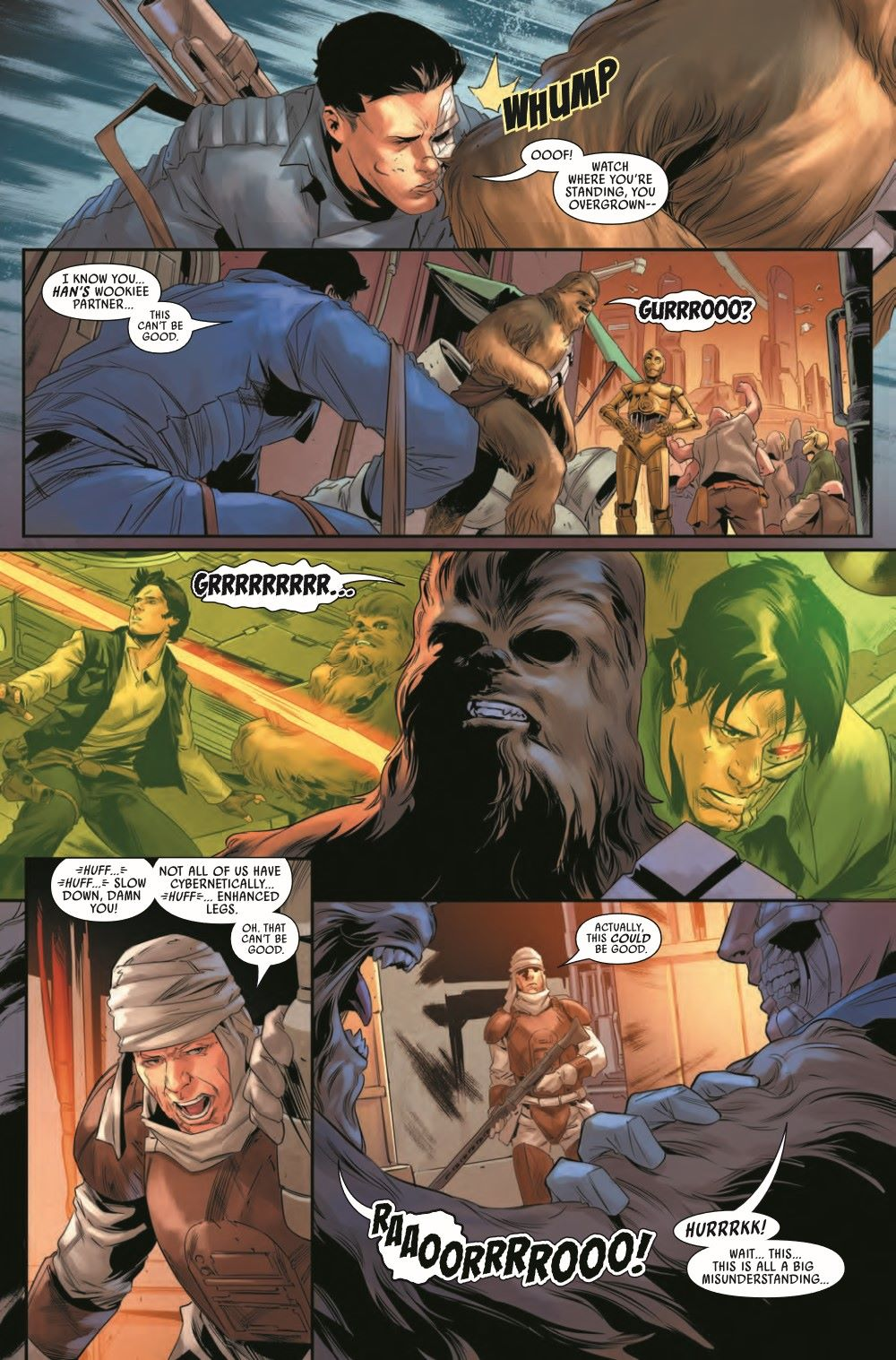 STWBOUNTYHUNT2020013_Preview-4 ComicList Previews: STAR WARS BOUNTY HUNTERS #13