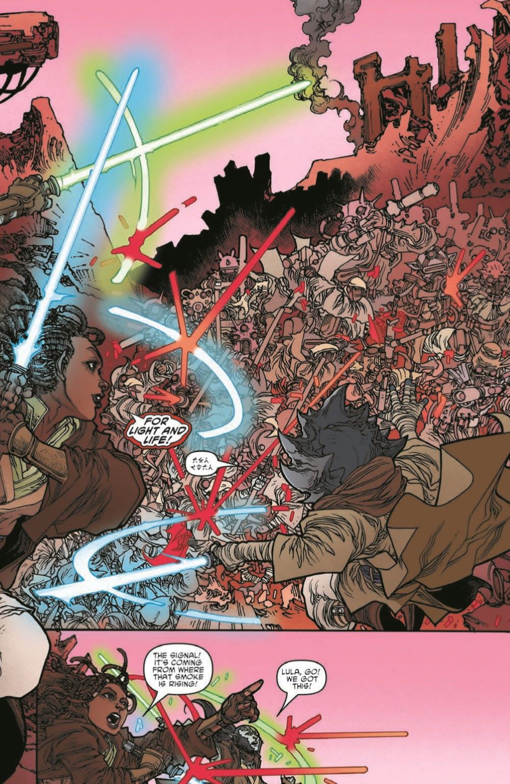 SWHRA05-Pr-7 ComicList Previews: STAR WARS THE HIGH REPUBLIC ADVENTURES #5
