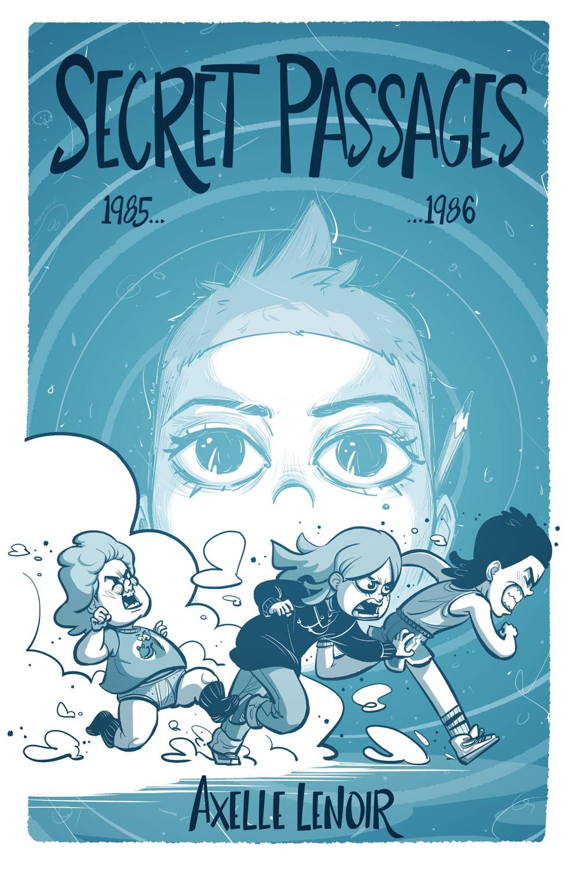 Secret-Passages-COVER IDW Publishing September 2021 Solicitations