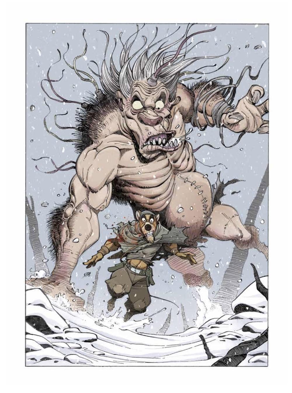 Solo2-2 ComicList Previews: OSCAR MARTIN'S SOLO VOLUME 2 HC
