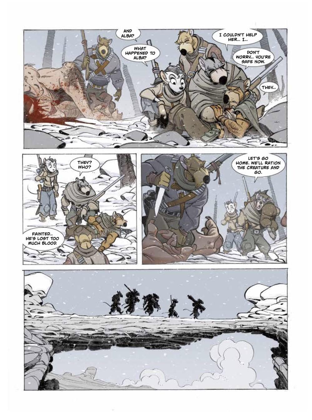 Solo2-4 ComicList Previews: OSCAR MARTIN'S SOLO VOLUME 2 HC