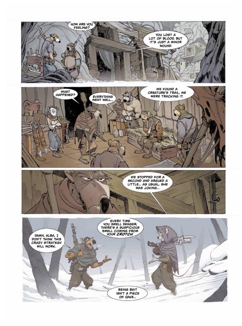 Solo2-5 ComicList Previews: OSCAR MARTIN'S SOLO VOLUME 2 HC