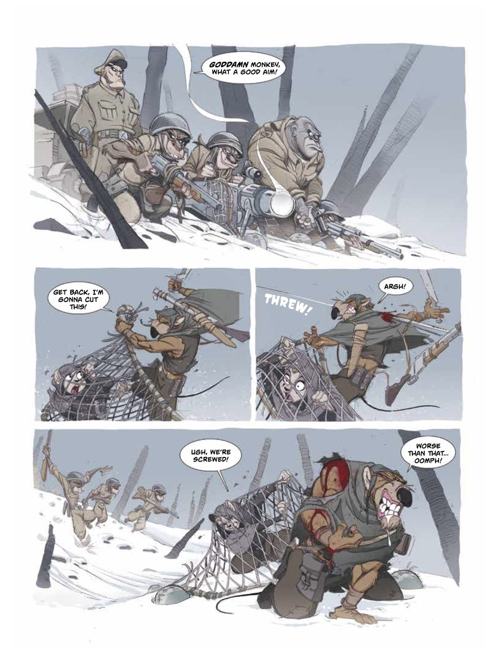 Solo2-7 ComicList Previews: OSCAR MARTIN'S SOLO VOLUME 2 HC