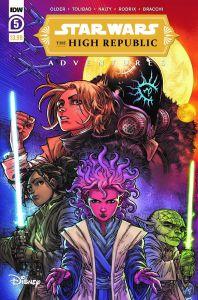 StarWarsHighRepublic-05-A-198x300 ComicList Previews: STAR WARS THE HIGH REPUBLIC ADVENTURES #5