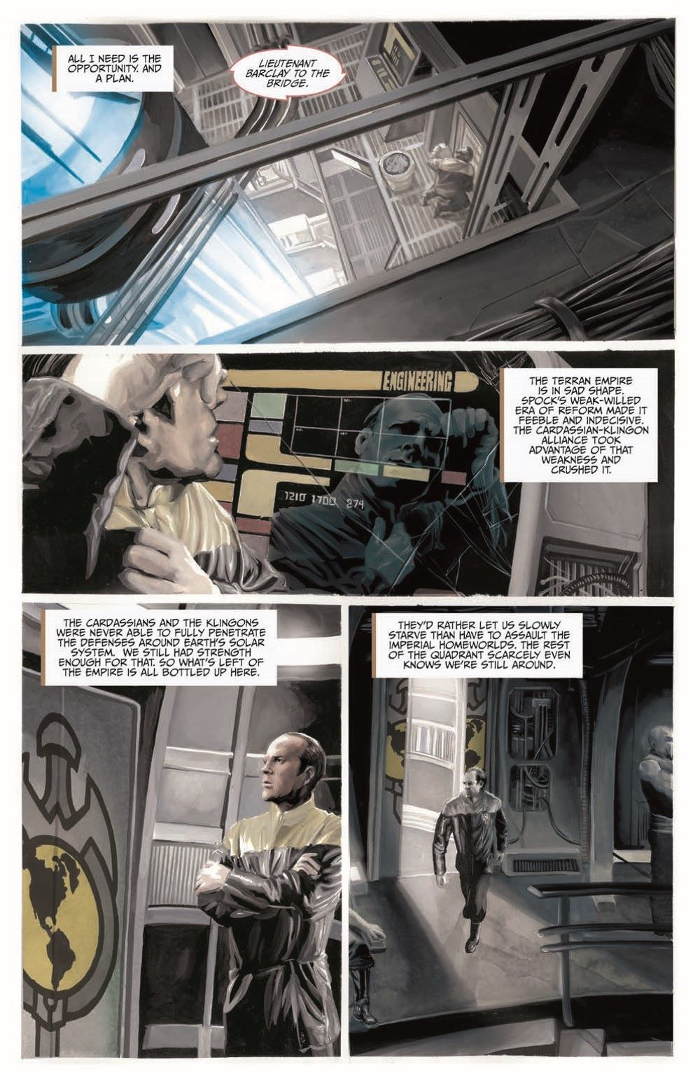 Star_Trek-TNG-MUC-pr-5 ComicList Previews: STAR TREK THE NEXT GENERATION MIRROR UNIVERSE COLLECTION TP