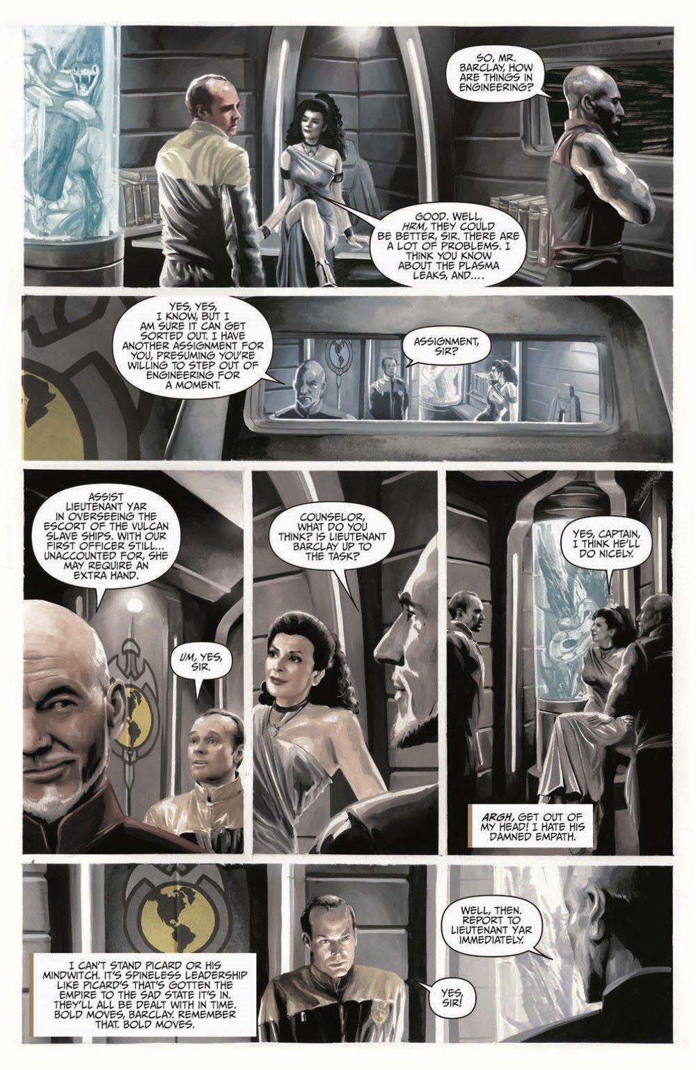 Star_Trek-TNG-MUC-pr-7 ComicList Previews: STAR TREK THE NEXT GENERATION MIRROR UNIVERSE COLLECTION TP