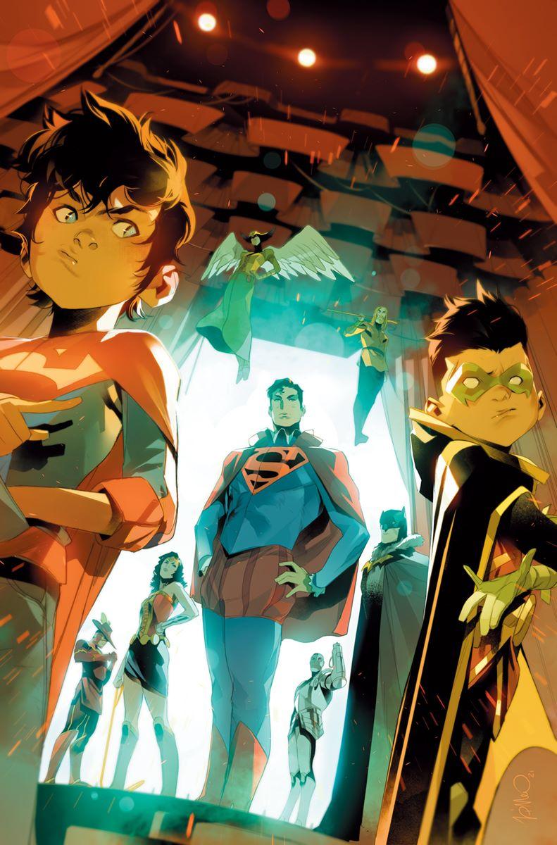 Supersons-6-Main-Di-Meo DC Comics September 2021 Solicitations