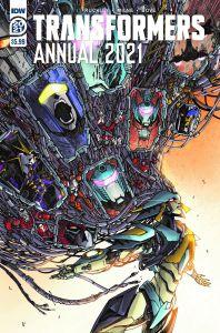 TF2021AnnualCover-A-198x300 ComicList Previews: TRANSFORMERS ANNUAL 2021