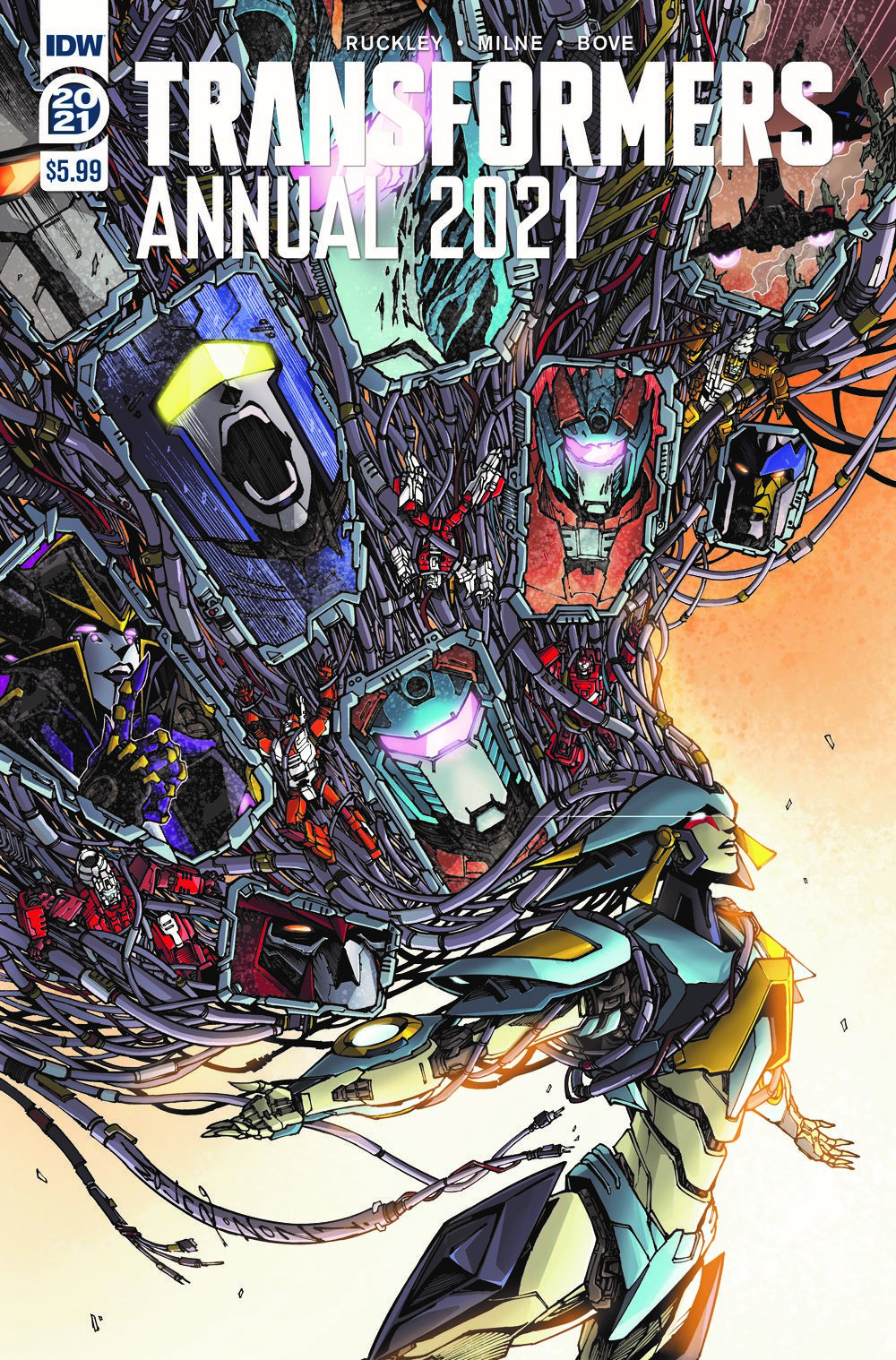 TF2021AnnualCover-A ComicList: IDW Publishing New Releases for 06/09/2021