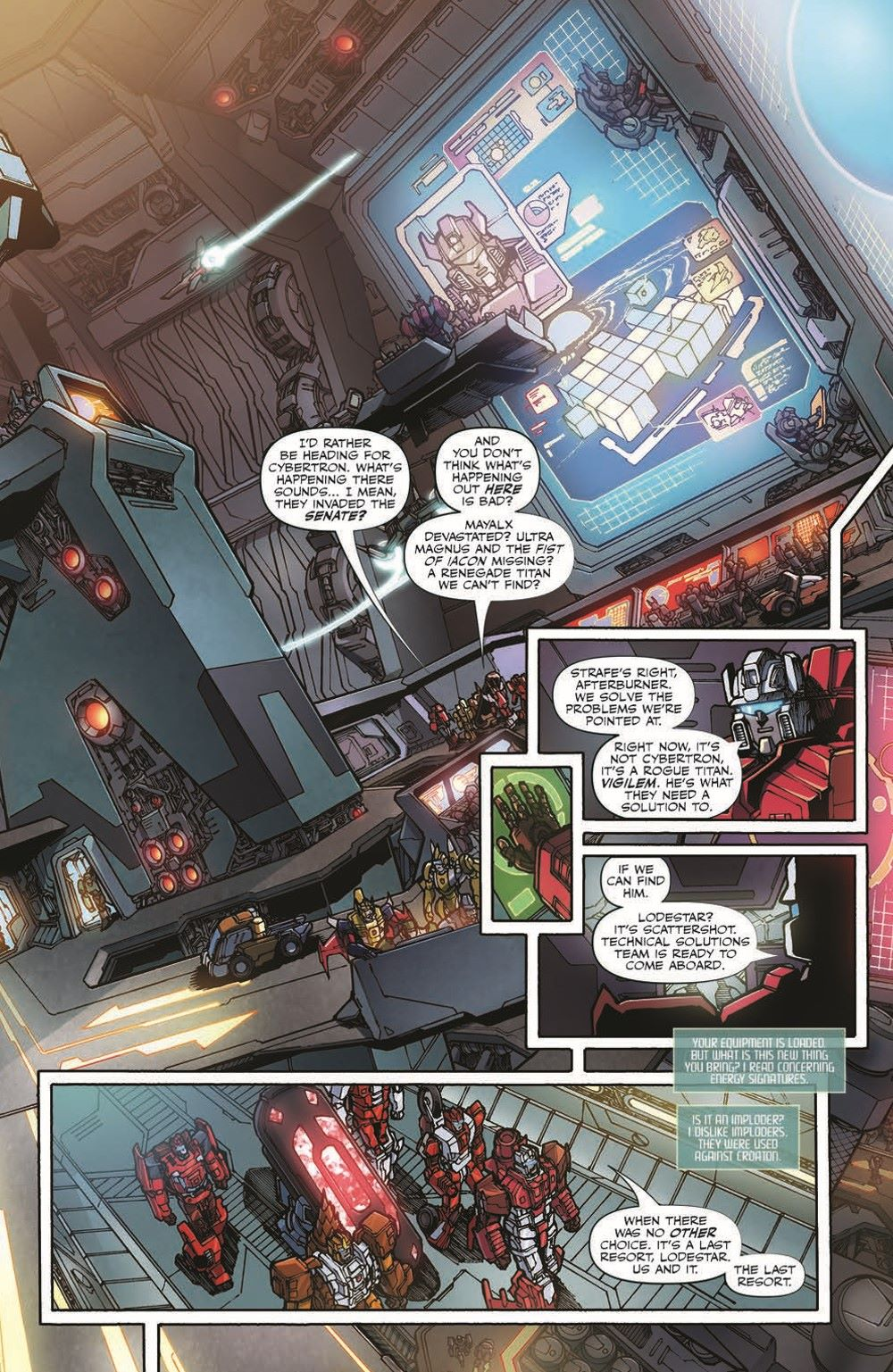 TFAnnual-pr-4 ComicList Previews: TRANSFORMERS ANNUAL 2021