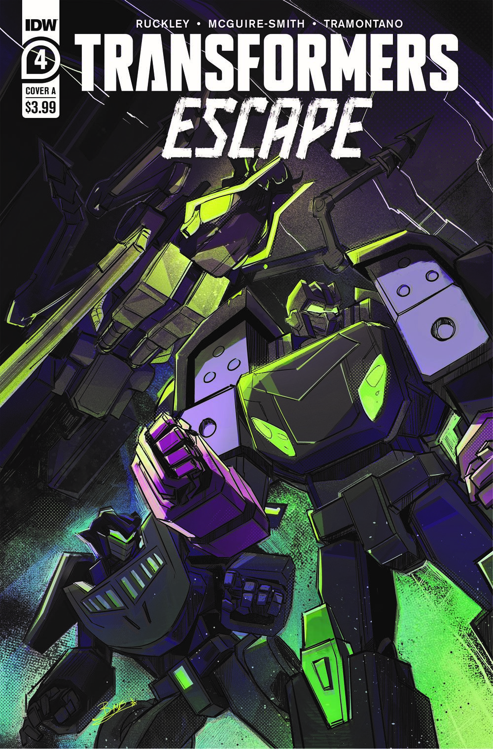 TFEscape04-Cover-A ComicList: IDW Publishing New Releases for 06/16/2021