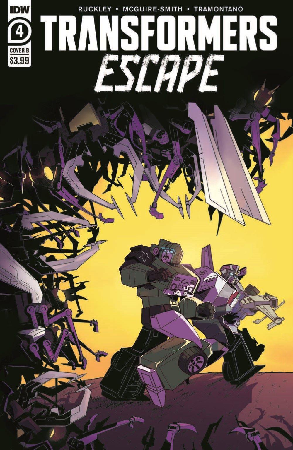 TFEscape04-pr-2 ComicList Previews: TRANSFORMERS ESCAPE #4 (OF 5)