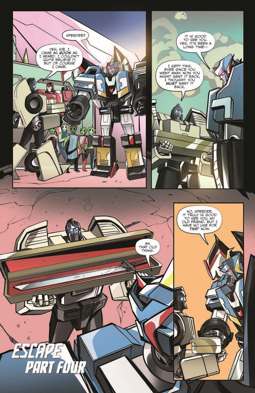 TFEscape04-pr-6 ComicList Previews: TRANSFORMERS ESCAPE #4 (OF 5)