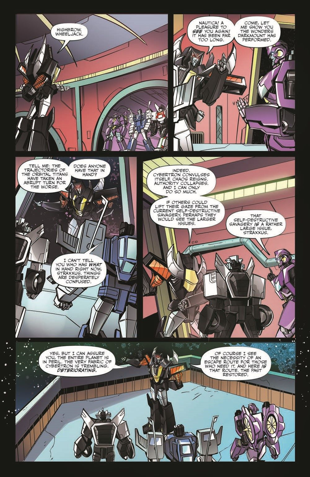 TFEscape04-pr-8 ComicList Previews: TRANSFORMERS ESCAPE #4 (OF 5)