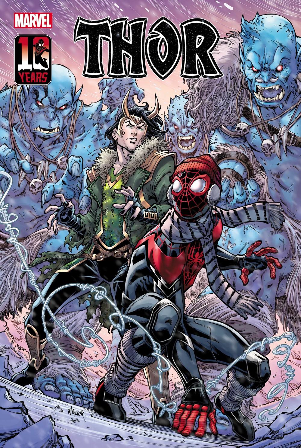 THOR2020017_Nauck_Miles_var Marvel Comics September 2021 Solicitations