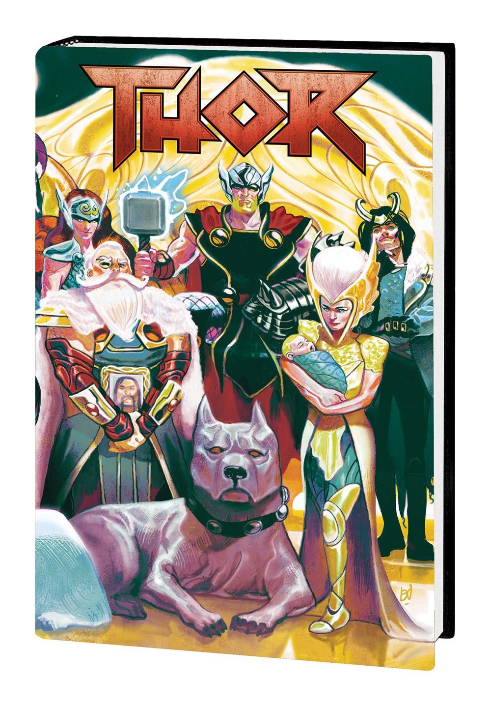 THOR_JA_VOL_5_HC Marvel Comics September 2021 Solicitations