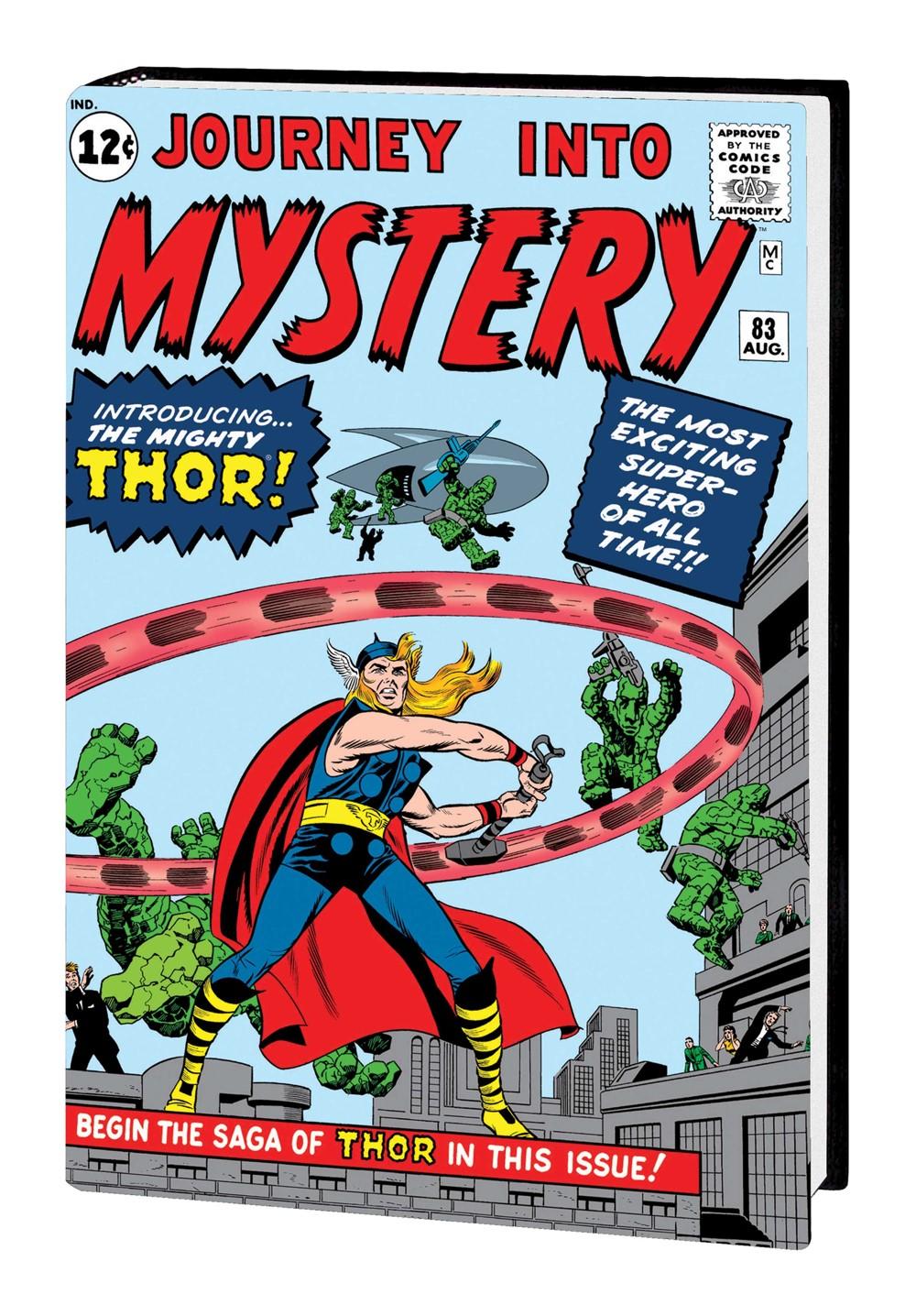 THOR_OMNI_V1_HC_KIRBY Marvel Comics September 2021 Solicitations